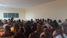На шаг ближе к профессии: встреча руководителя Feel Free с первокурсниками ФИЯ